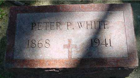 WHITE, PETER P. - Ida County, Iowa | PETER P. WHITE