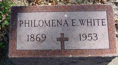WHITE, PHILOMENA E. - Ida County, Iowa | PHILOMENA E. WHITE