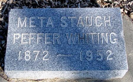STAUCH WHITING, META - Ida County, Iowa | META STAUCH WHITING
