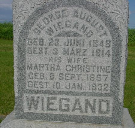 WIEGAND, GEORGE - Ida County, Iowa | GEORGE WIEGAND