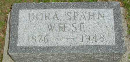 SPAHN WIESE, DORA - Ida County, Iowa | DORA SPAHN WIESE
