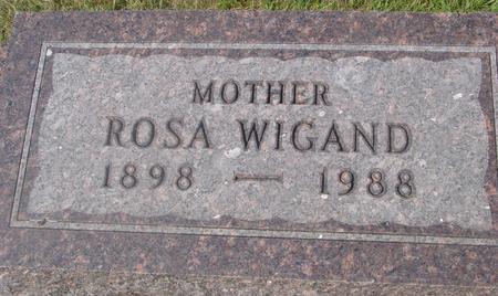 WIGAND, ROSA - Ida County, Iowa | ROSA WIGAND