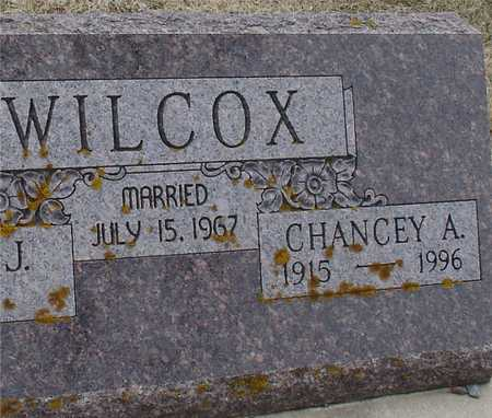 WILCOX, CHANCEY A. - Ida County, Iowa | CHANCEY A. WILCOX