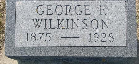 WILKINSON, GEORGE - Ida County, Iowa | GEORGE WILKINSON