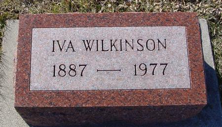 WILKINSON, IVA - Ida County, Iowa | IVA WILKINSON