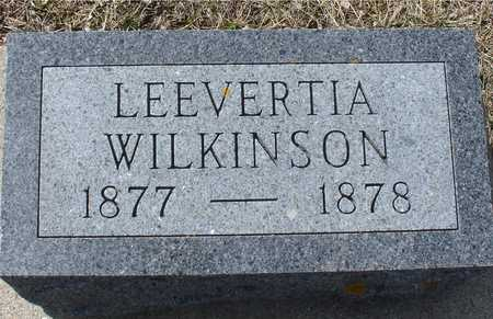 WILKINSON, LEEVERTIA - Ida County, Iowa | LEEVERTIA WILKINSON