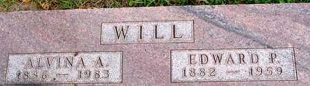WILL, EDWARD & ALVINA - Ida County, Iowa   EDWARD & ALVINA WILL