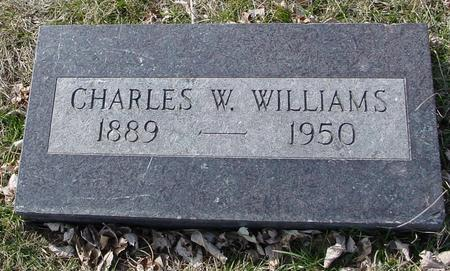 WILLIAMS, CHARLES W. - Ida County, Iowa | CHARLES W. WILLIAMS