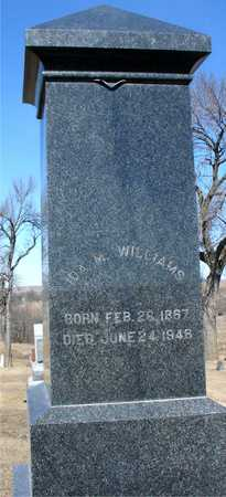 WILLIAMS, IDA M. - Ida County, Iowa | IDA M. WILLIAMS