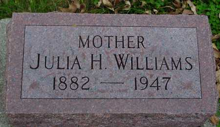 WILLIAMS, JULIA H. - Ida County, Iowa | JULIA H. WILLIAMS