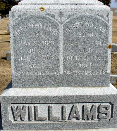WILLIAMS, JOSEPH & MARY M. - Ida County, Iowa | JOSEPH & MARY M. WILLIAMS
