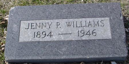 WILLIAMS, JENNY P. - Ida County, Iowa | JENNY P. WILLIAMS