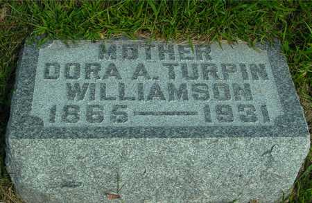 TURPIN WILLIAMSON, DORA A - Ida County, Iowa | DORA A TURPIN WILLIAMSON