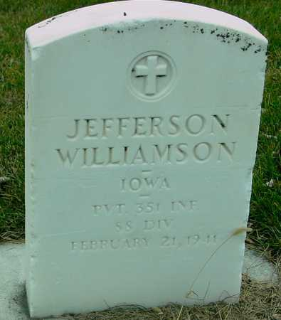WILLIAMSON, JEFFERSON - Ida County, Iowa | JEFFERSON WILLIAMSON
