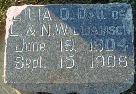 WILLIAMSON, LILIA O. - Ida County, Iowa | LILIA O. WILLIAMSON