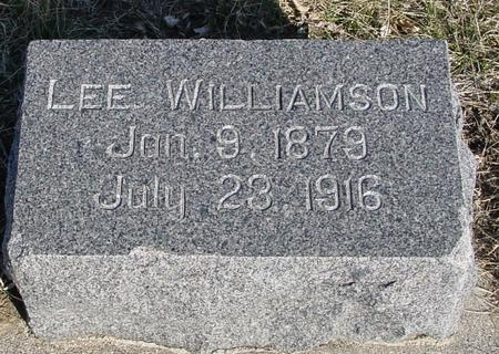 WILLIAMSON, LEE - Ida County, Iowa | LEE WILLIAMSON