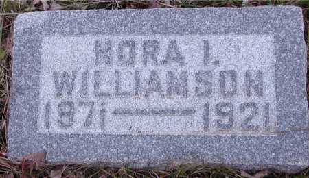 WILLIAMSON, NORA I. - Ida County, Iowa | NORA I. WILLIAMSON