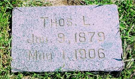 WILLIAMSON, THOMAS L. - Ida County, Iowa | THOMAS L. WILLIAMSON