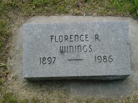 WININGS, FLORENCE - Ida County, Iowa | FLORENCE WININGS