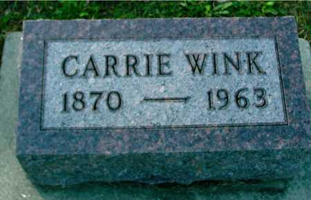 WINK, CARRIE - Ida County, Iowa | CARRIE WINK