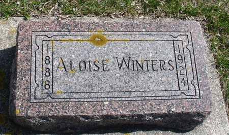 WINTERS, ALOISE - Ida County, Iowa | ALOISE WINTERS