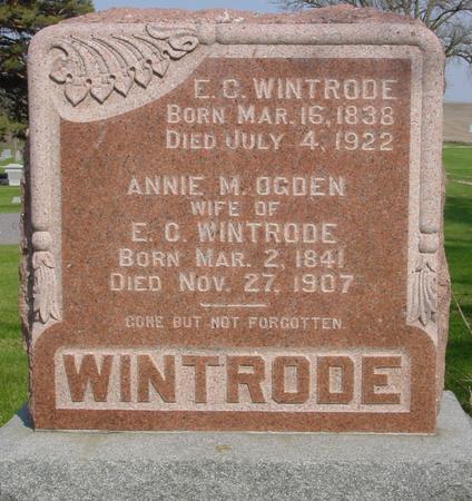 OGDEN WINTRODE, ANNA - Ida County, Iowa | ANNA OGDEN WINTRODE