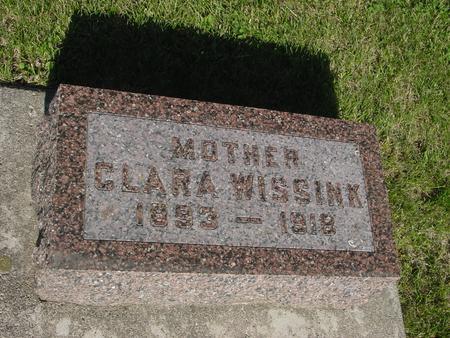 WISSINK, CLARA - Ida County, Iowa | CLARA WISSINK