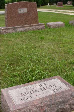 WITT, ANNA MARY - Ida County, Iowa   ANNA MARY WITT