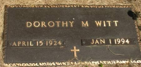 WITT, DOROTHY - Ida County, Iowa | DOROTHY WITT