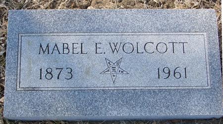 WOLCOTT, MABEL  E. - Ida County, Iowa | MABEL  E. WOLCOTT