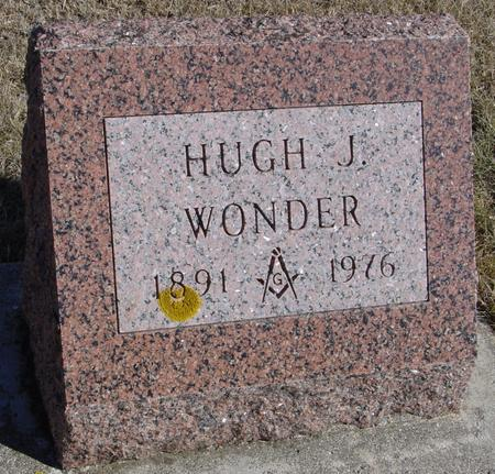 WONDER, HUGH J. - Ida County, Iowa | HUGH J. WONDER