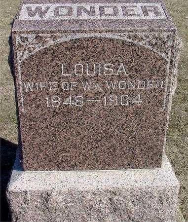 WONDER, LOUISA - Ida County, Iowa | LOUISA WONDER