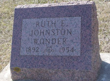 WONDER, RUTH - Ida County, Iowa | RUTH WONDER
