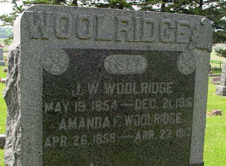 WOOLRIDGE, J. W. - Ida County, Iowa | J. W. WOOLRIDGE