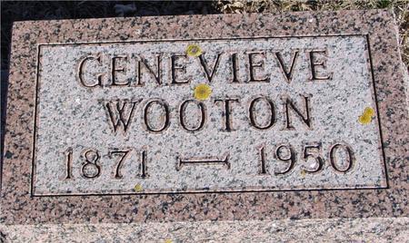 WOOTEN, GENEVIEVE - Ida County, Iowa | GENEVIEVE WOOTEN