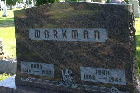 WORKMAN, JOHN & ANNA - Ida County, Iowa   JOHN & ANNA WORKMAN