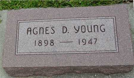 YOUNG, AGNES - Ida County, Iowa | AGNES YOUNG