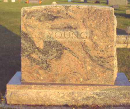 YOUNG, FAMILY MARKER - Ida County, Iowa | FAMILY MARKER YOUNG