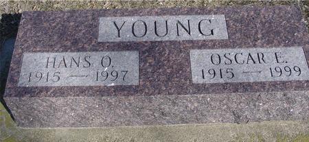 YOUNG, HANS & OSCAR - Ida County, Iowa   HANS & OSCAR YOUNG