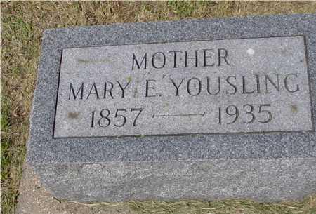 YOUSLING, MARY E. - Ida County, Iowa | MARY E. YOUSLING