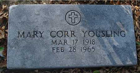 CORR YOUSLING, MARY - Ida County, Iowa | MARY CORR YOUSLING