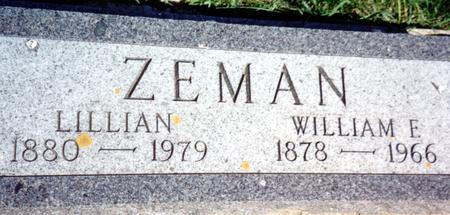 ZEMAN, LILLIAN - Ida County, Iowa | LILLIAN ZEMAN