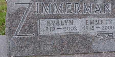 ZIMMERMAN, EMMETT & EVELYN - Ida County, Iowa | EMMETT & EVELYN ZIMMERMAN
