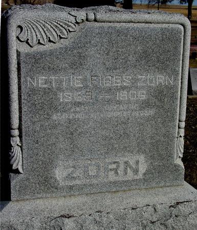 ZORN, NETTIE - Ida County, Iowa | NETTIE ZORN
