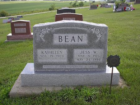 BEAN, JESS WILLARD - Iowa County, Iowa | JESS WILLARD BEAN