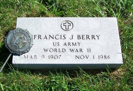 BERRY, FRANCIS - Iowa County, Iowa | FRANCIS BERRY