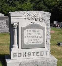 BOHSTEDT, AUGUST - Iowa County, Iowa | AUGUST BOHSTEDT