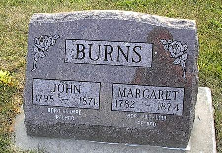 BURNS, MARGARET - Iowa County, Iowa | MARGARET BURNS