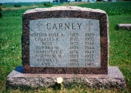 CARNEY, THOMAS L. - Iowa County, Iowa | THOMAS L. CARNEY
