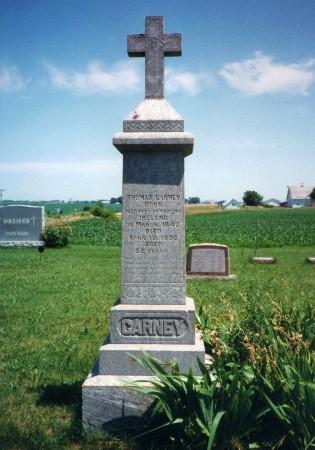 CARNEY, THOMAS - Iowa County, Iowa | THOMAS CARNEY